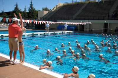 Nike swim camp at the university of north texas mysummercamps for San diego state university swimming pool