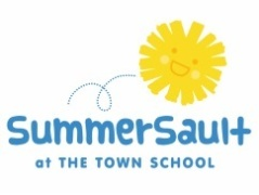 SummerSault at The Town School