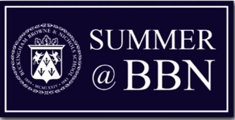 Summer at Buckingham Browne and Nichols