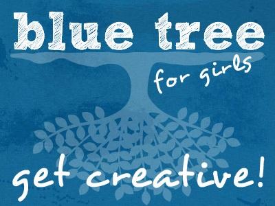 Blue Tree at Bryn Mawr College