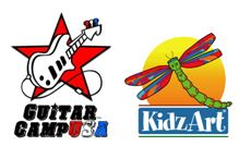 KidzArt & Guitar Club Camps