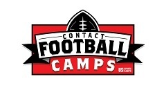 Contact Football Camp held at Houston Baptist University