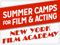 Film and Acting Camp at New York Film Academy