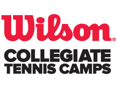 The Wilson Collegiate Tennis Camps at Williams College Day Programs
