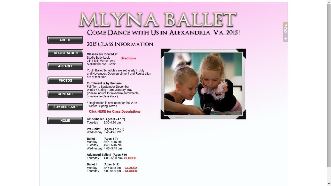 MLYNA Ballet