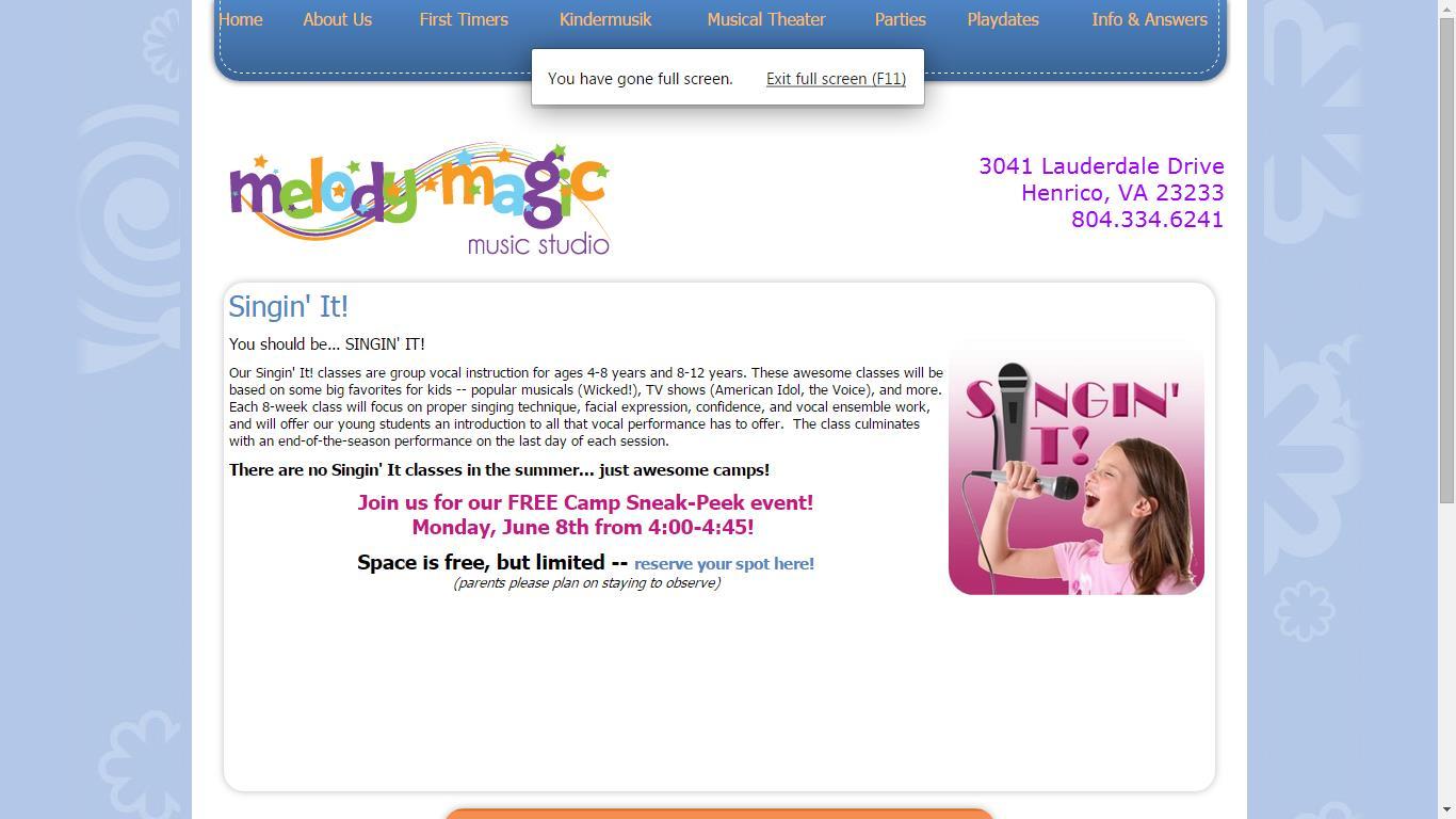Melody Magic Music Studio Summer of Music