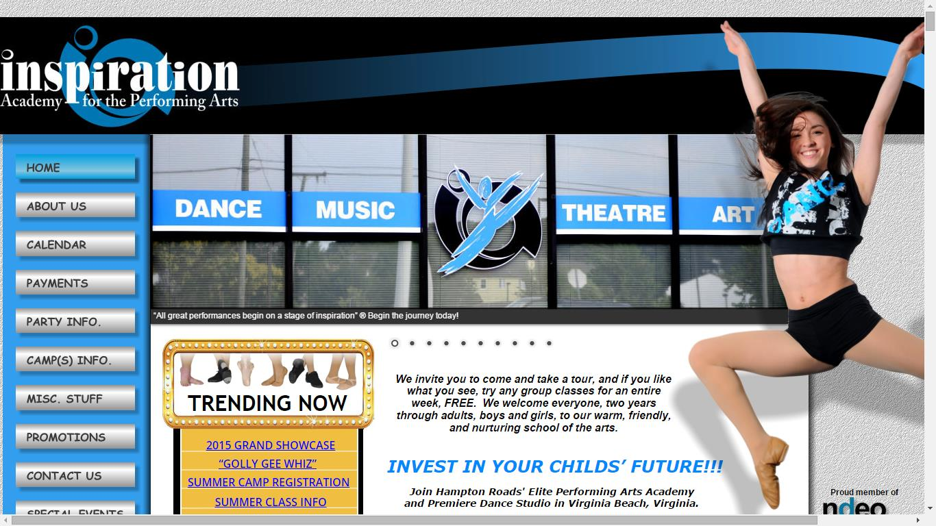 Virginia Beach Dance Studio, Inspiration Academy