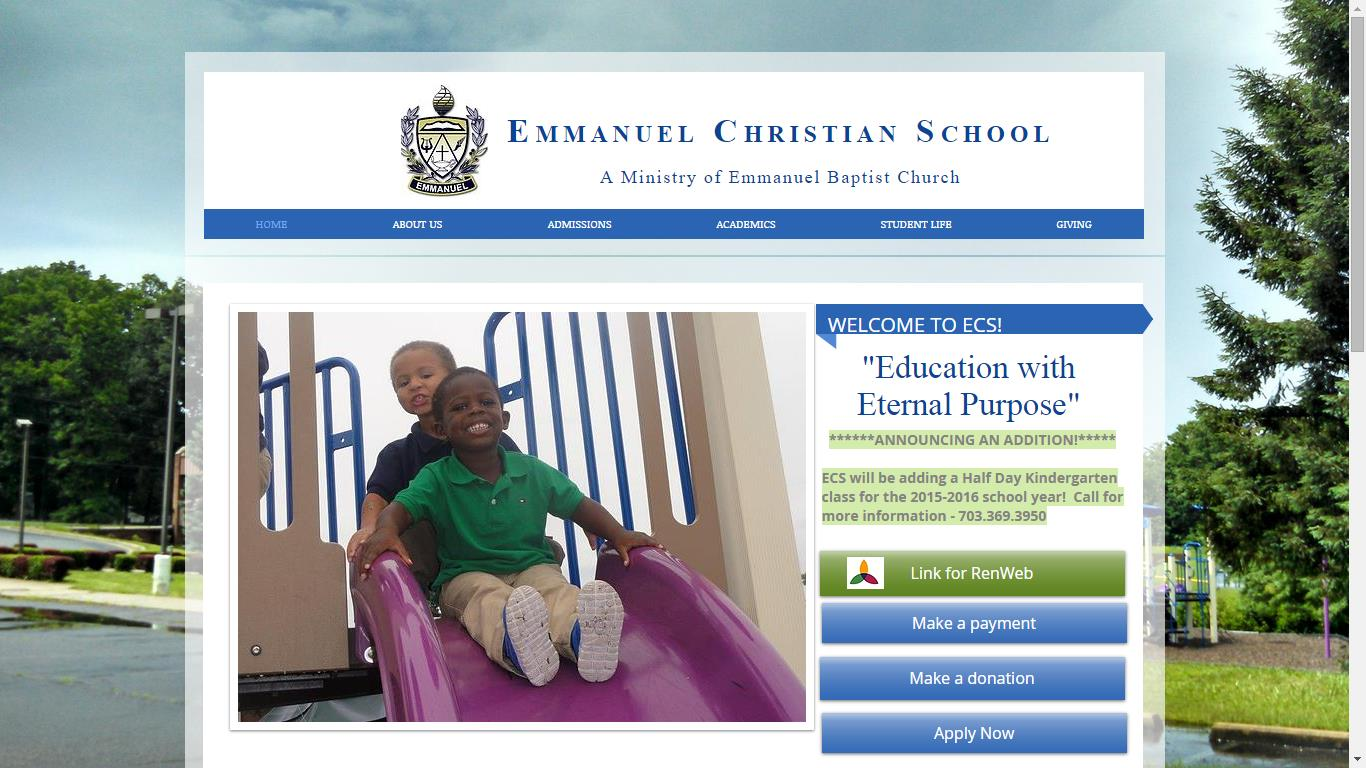 Emmanuel Christian School Summer Camp