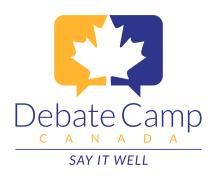 Debate Camp Canada - Canadian Locations