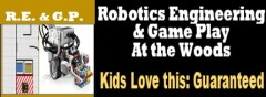Robotics Engineering and Game Play At The Woods
